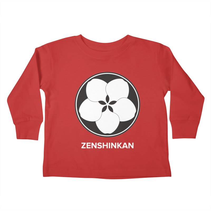 Zenshinkan  Kids Toddler Longsleeve T-Shirt by Zenshinkan's Shop