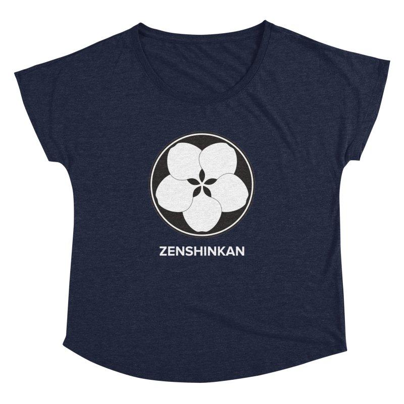 Zenshinkan  Women's Dolman Scoop Neck by Zenshinkan's Shop