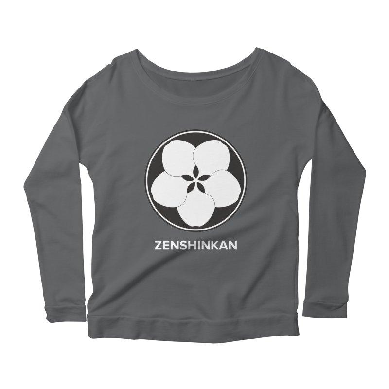 Zenshinkan  Women's Scoop Neck Longsleeve T-Shirt by Zenshinkan's Shop