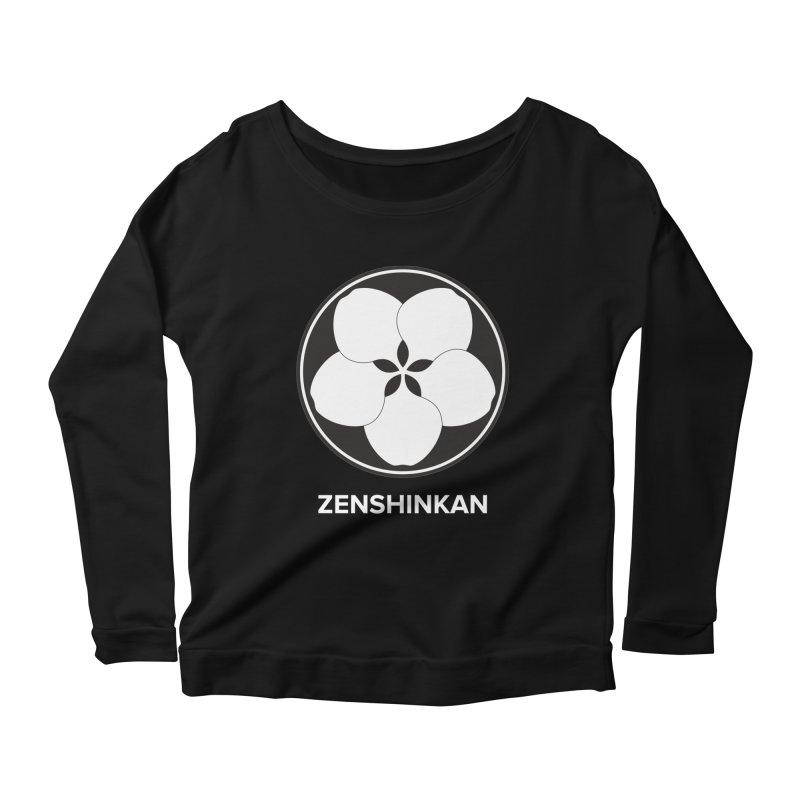 Zenshinkan  Women's Longsleeve Scoopneck  by Zenshinkan's Shop