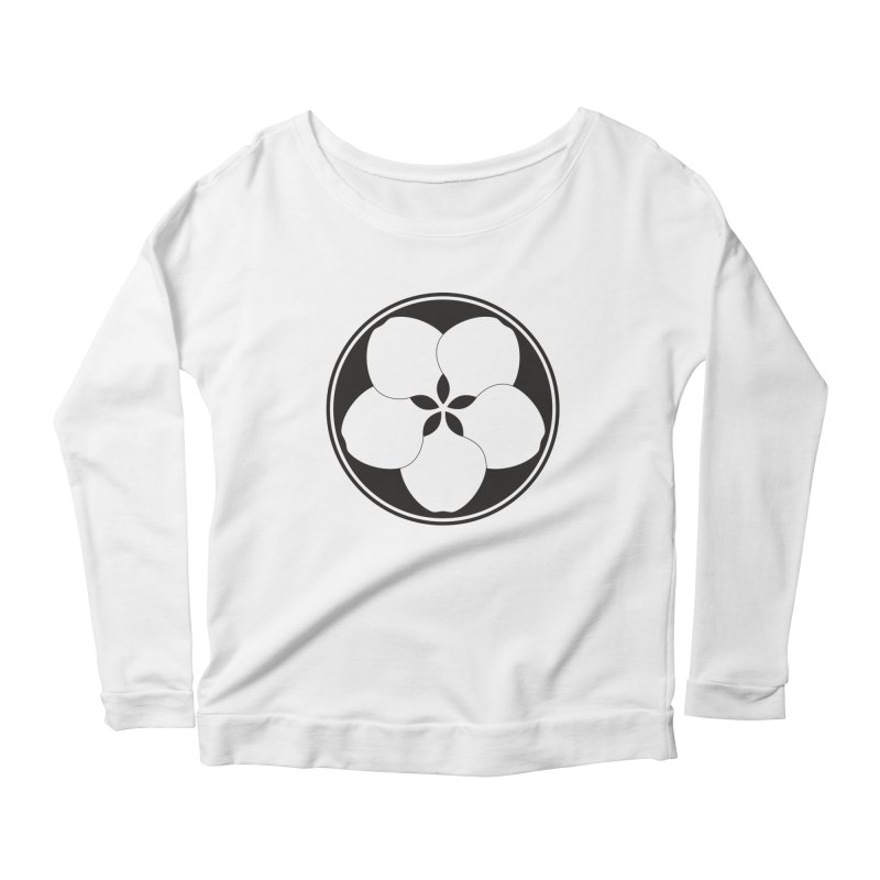 Zenshinkan  Women's Scoop Neck Longsleeve T-Shirt by Zenshinkan's Shop
