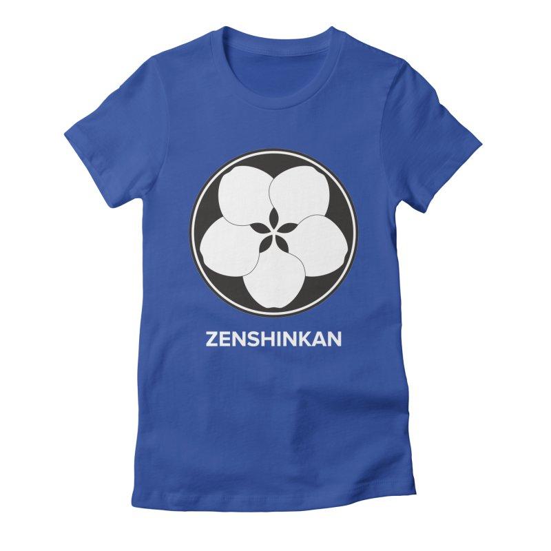Zenshinkan  Women's Fitted T-Shirt by Zenshinkan's Shop