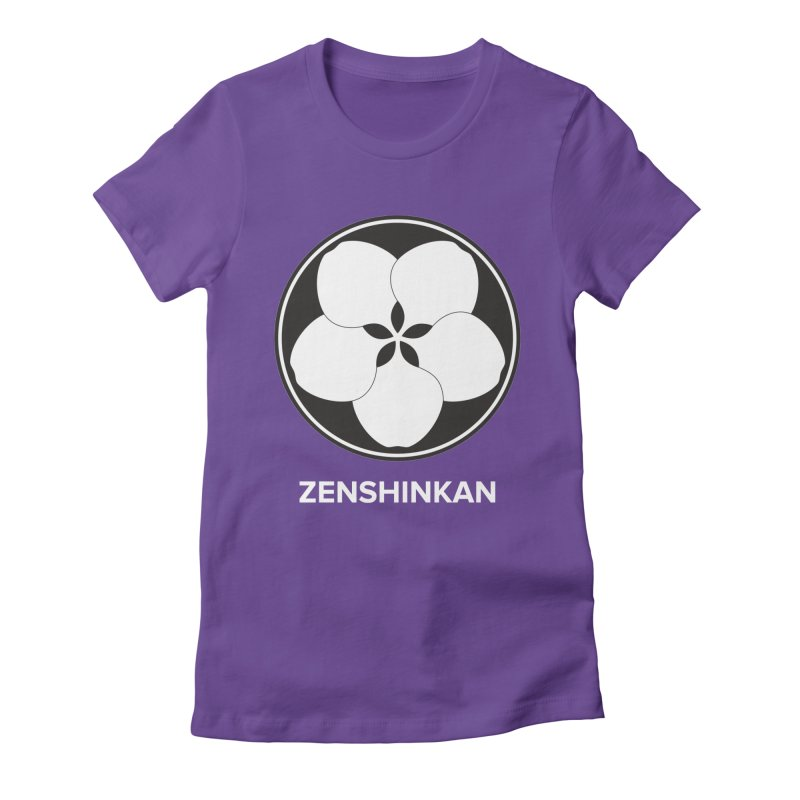 Zenshinkan  Women's Fitted T-Shirt by Zenshinkan's Shop