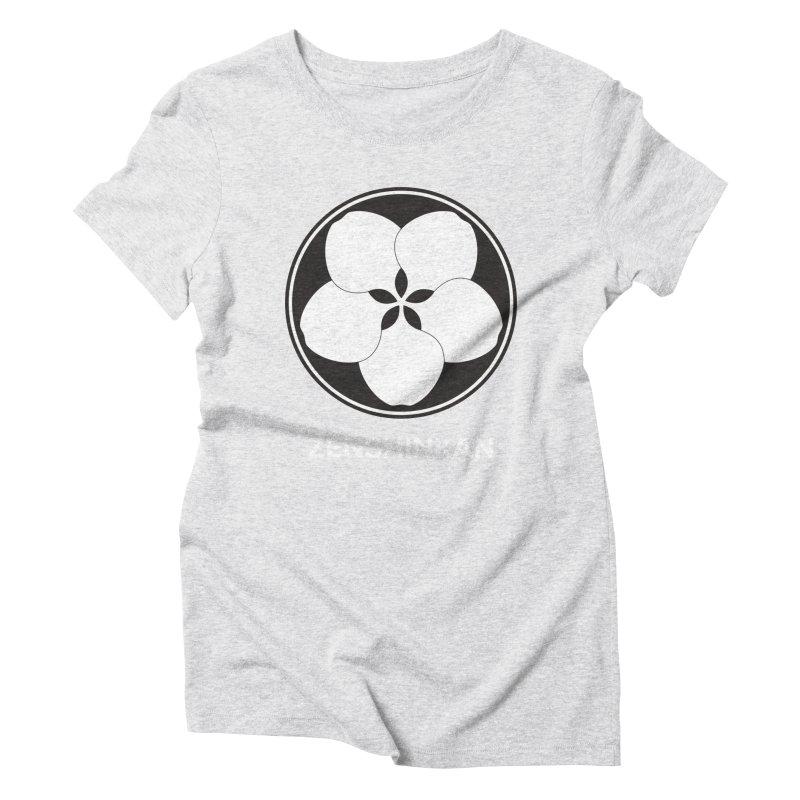 Zenshinkan  Women's Triblend T-Shirt by Zenshinkan's Shop