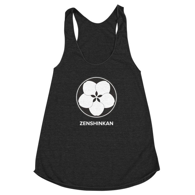 Zenshinkan  Women's Racerback Triblend Tank by Zenshinkan's Shop