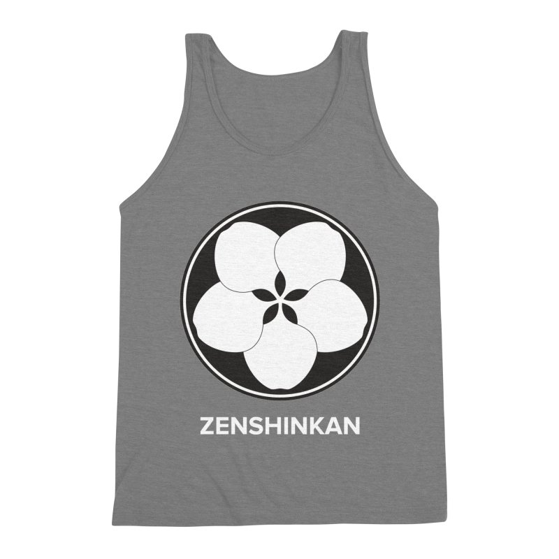Zenshinkan  Men's Triblend Tank by Zenshinkan's Shop