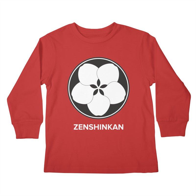 Zenshinkan  Kids Longsleeve T-Shirt by Zenshinkan's Shop