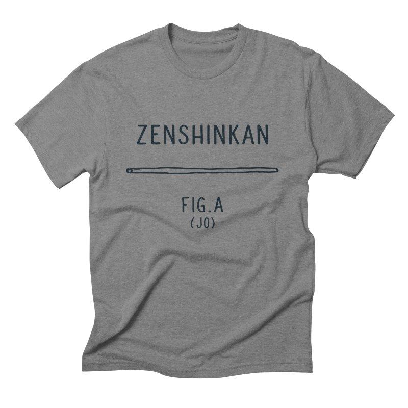 Jo Men's Triblend T-Shirt by Zenshinkan's Shop