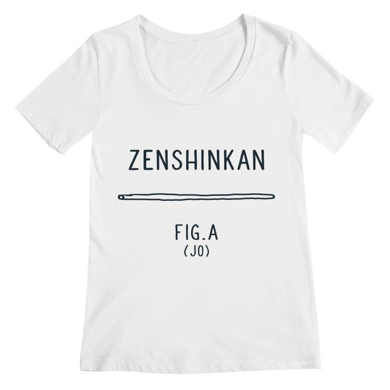 Jo Women's Scoopneck by Zenshinkan's Shop