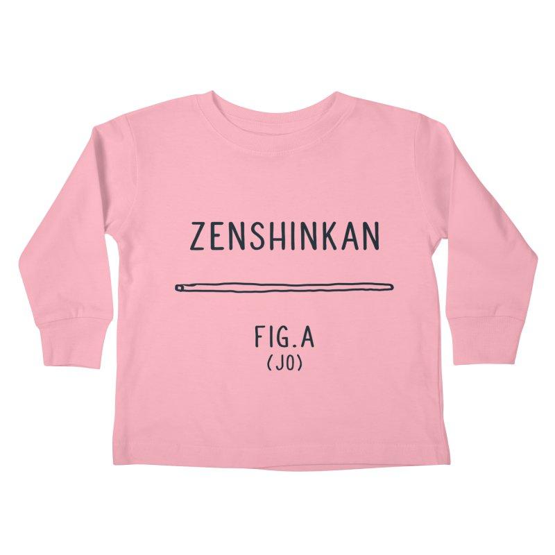 Jo Kids Toddler Longsleeve T-Shirt by Zenshinkan's Shop