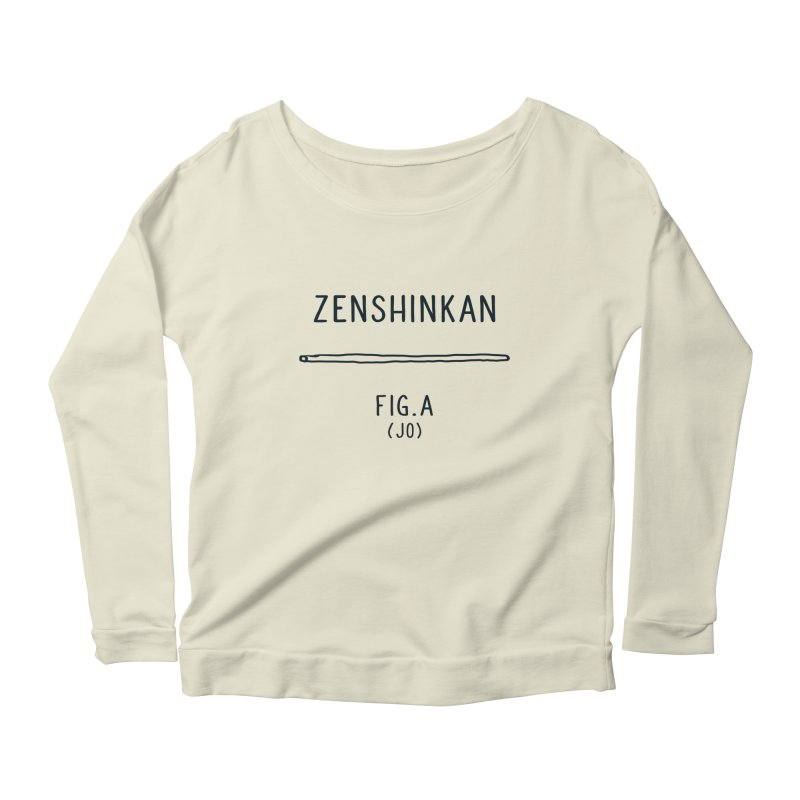 Jo Women's Scoop Neck Longsleeve T-Shirt by Zenshinkan's Shop