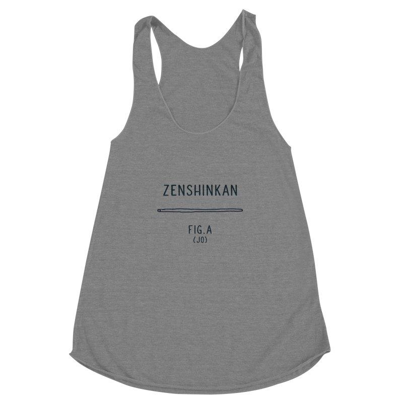 Jo Women's Racerback Triblend Tank by Zenshinkan's Shop
