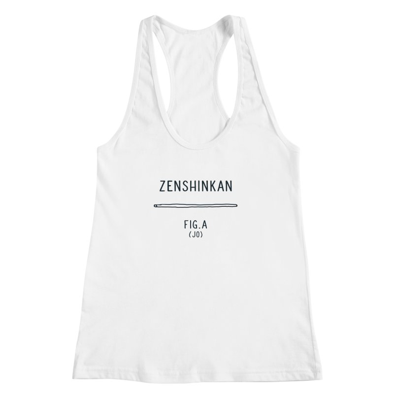 Jo Women's Racerback Tank by Zenshinkan's Shop
