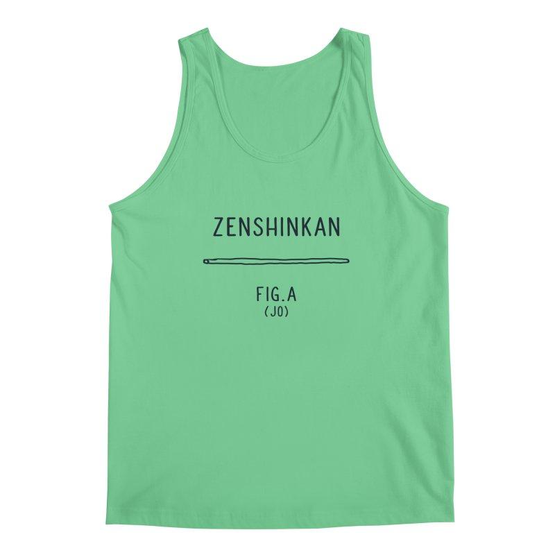 Jo Men's Regular Tank by Zenshinkan's Shop