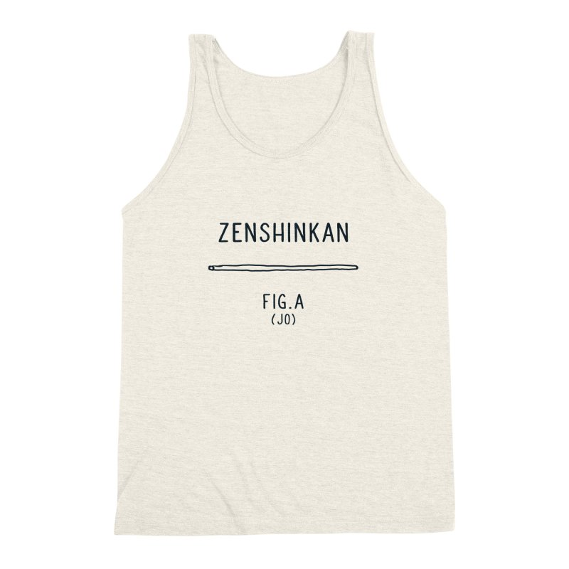 Jo Men's Triblend Tank by Zenshinkan's Shop