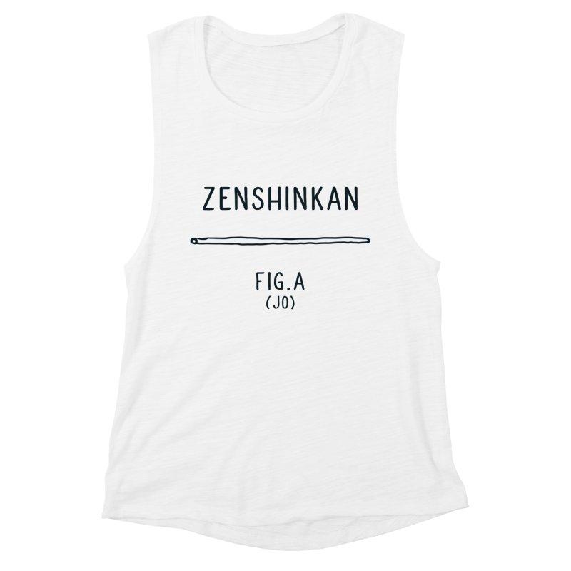 Jo Women's Muscle Tank by Zenshinkan's Shop