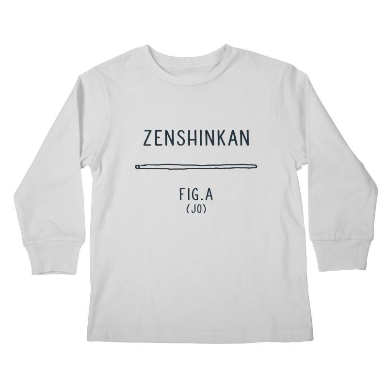 Jo Kids Longsleeve T-Shirt by Zenshinkan's Shop