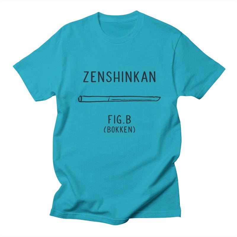 Bokken Men's T-Shirt by Zenshinkan's Shop