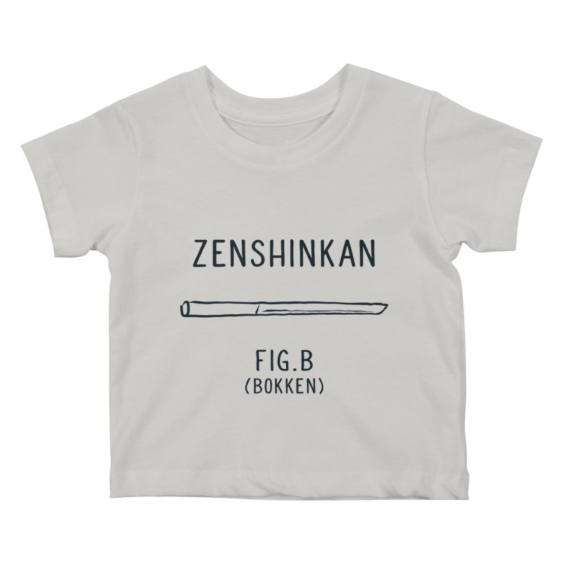 Bokken Kids Baby T-Shirt by Zenshinkan's Shop