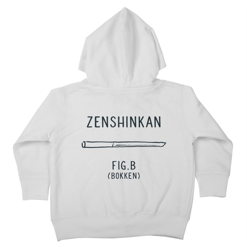Bokken Kids Toddler Zip-Up Hoody by Zenshinkan's Shop