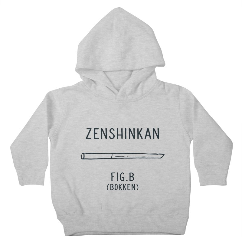 Bokken Kids Toddler Pullover Hoody by Zenshinkan's Shop