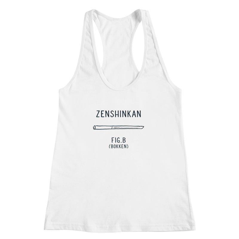 Bokken Women's Racerback Tank by Zenshinkan's Shop