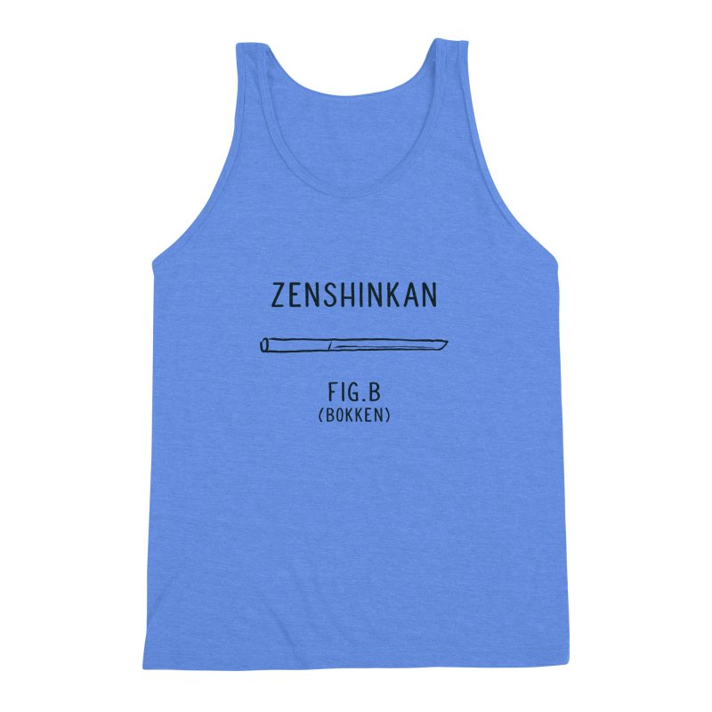 Bokken Men's Triblend Tank by Zenshinkan's Shop