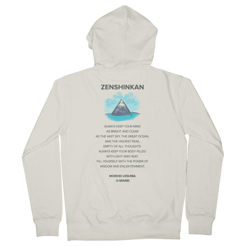 Power of Wisdom Women's Zip-Up Hoody by Zenshinkan's Shop