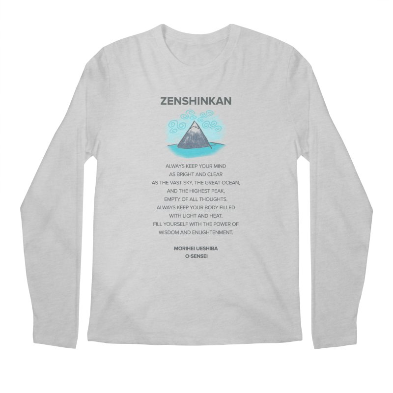 Power of Wisdom Men's Longsleeve T-Shirt by Zenshinkan's Shop