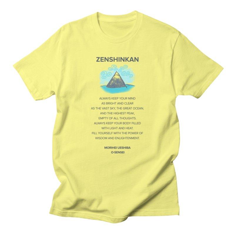 Power of Wisdom Men's T-Shirt by Zenshinkan's Shop