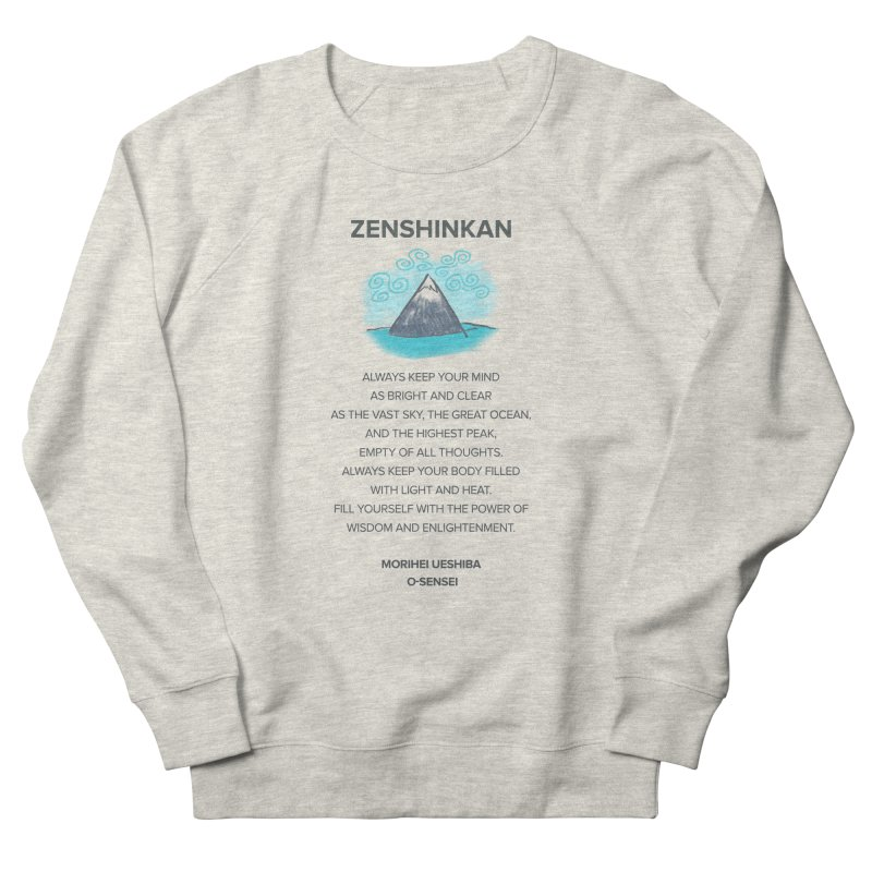 Power of Wisdom Men's Sweatshirt by Zenshinkan's Shop