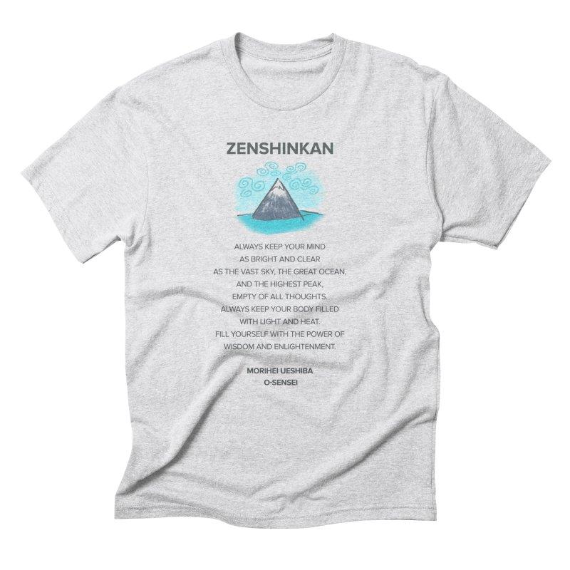 Power of Wisdom Men's Triblend T-Shirt by Zenshinkan's Shop
