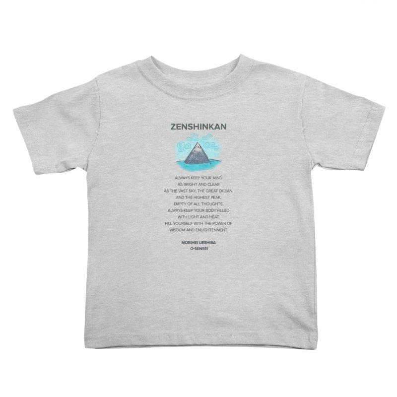 Power of Wisdom Kids Toddler T-Shirt by Zenshinkan's Shop