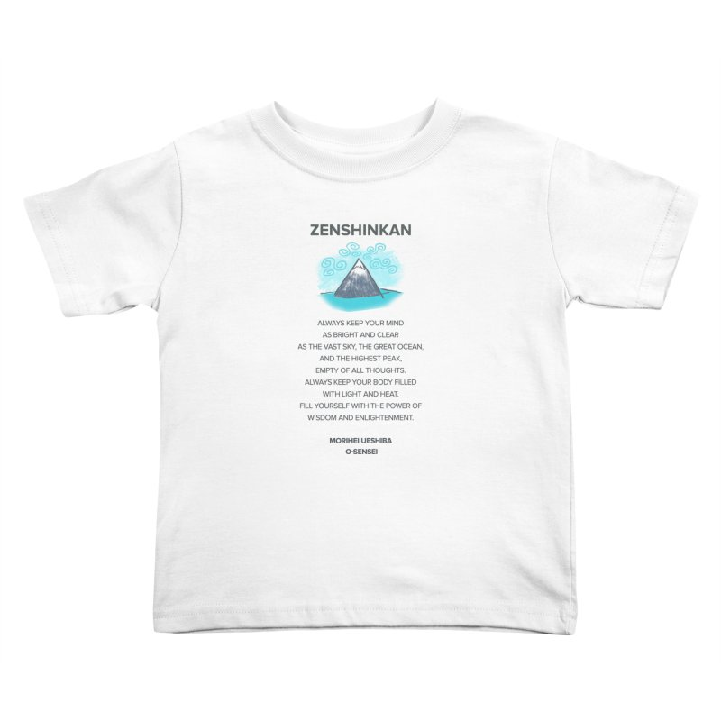 Power of Wisdom Kids Toddler T-Shirt by Zenshinkan's Shop