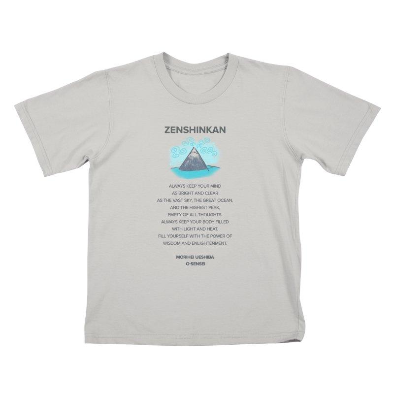Power of Wisdom Kids T-Shirt by Zenshinkan's Shop