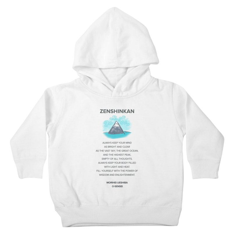 Power of Wisdom Kids Toddler Pullover Hoody by Zenshinkan's Shop