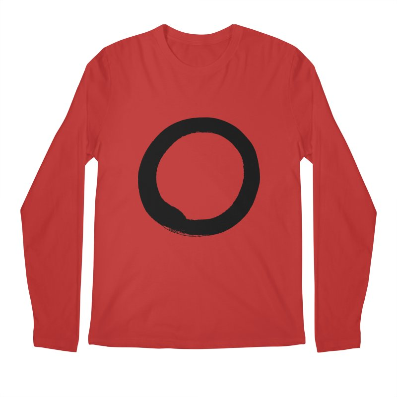 Enso Calligraphy Men's Regular Longsleeve T-Shirt by Zenshinkan's Shop