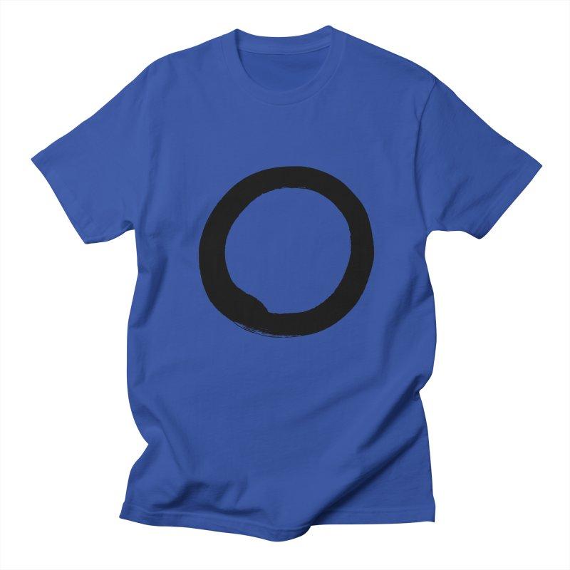 Enso Calligraphy Men's Regular T-Shirt by Zenshinkan's Shop