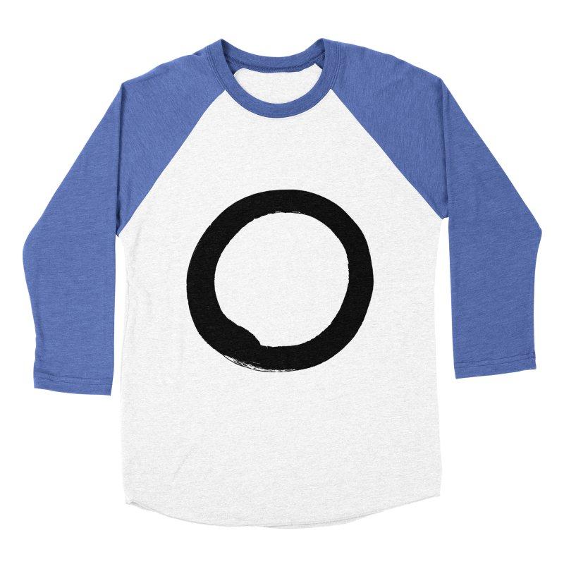 Enso Calligraphy Men's Baseball Triblend T-Shirt by Zenshinkan's Shop