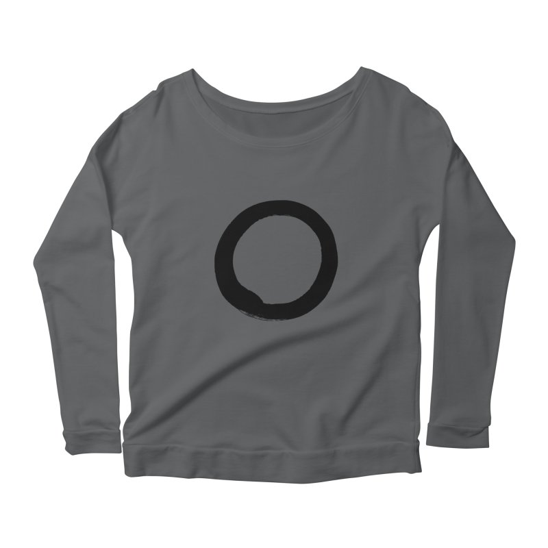Enso Calligraphy Women's Longsleeve T-Shirt by Zenshinkan's Shop