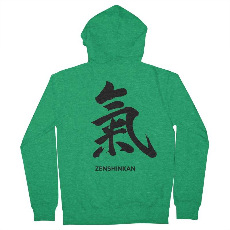 Ki Men's Zip-Up Hoody by Zenshinkan's Shop