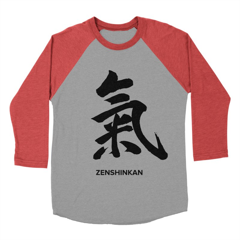 Ki Women's Baseball Triblend T-Shirt by Zenshinkan's Shop