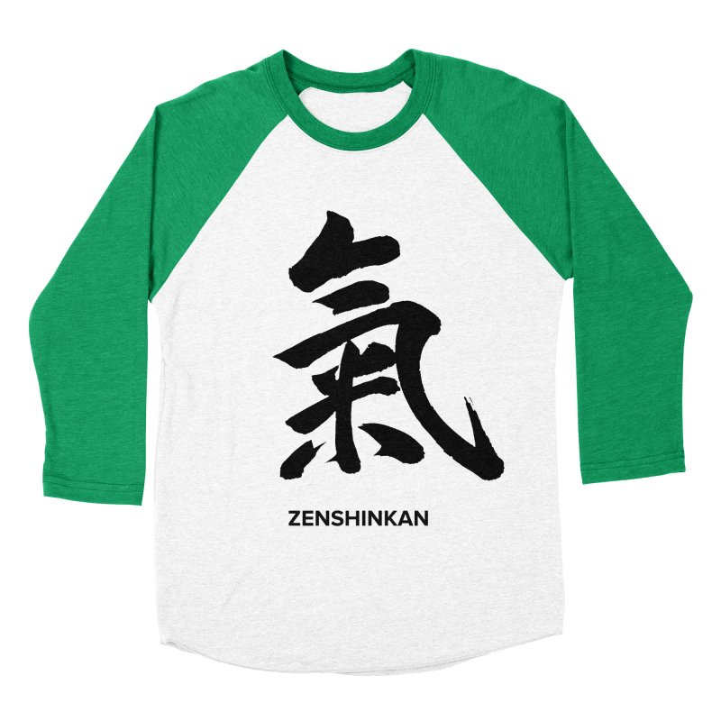 Ki Men's Baseball Triblend T-Shirt by Zenshinkan's Shop