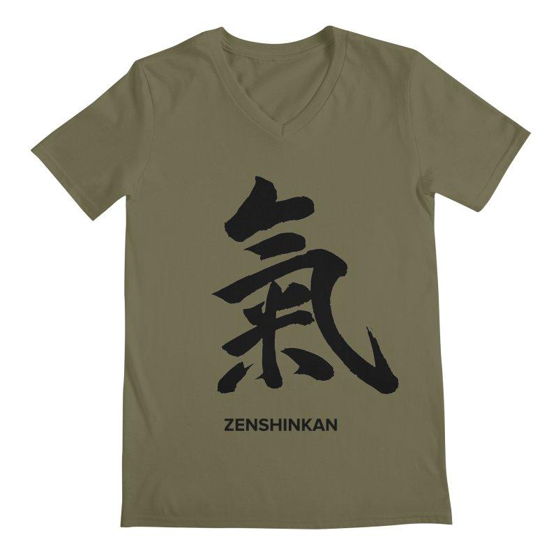 Ki Men's V-Neck by Zenshinkan's Shop