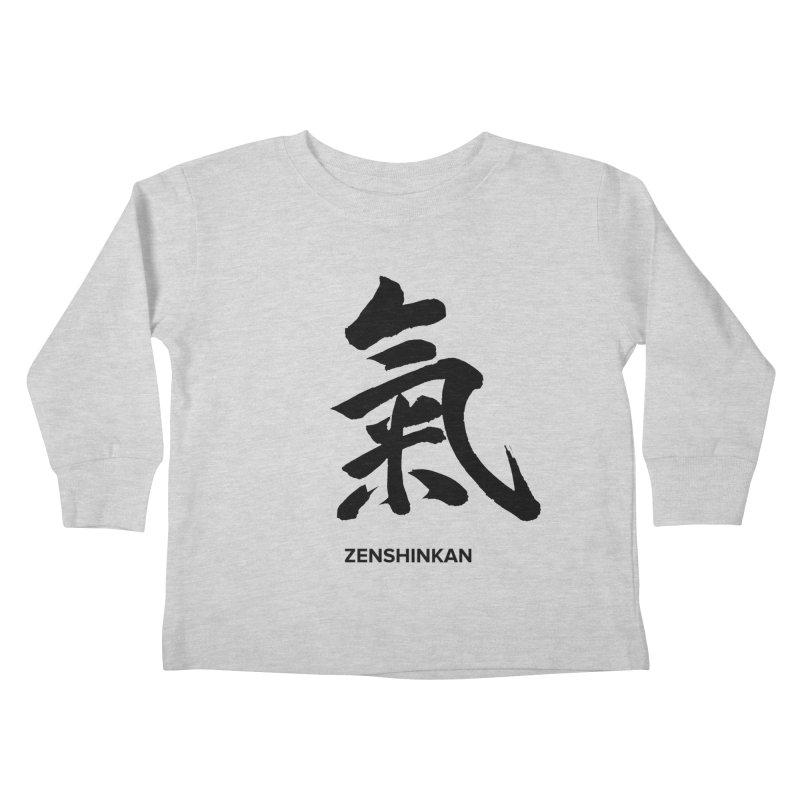 Ki Kids Toddler Longsleeve T-Shirt by Zenshinkan's Shop
