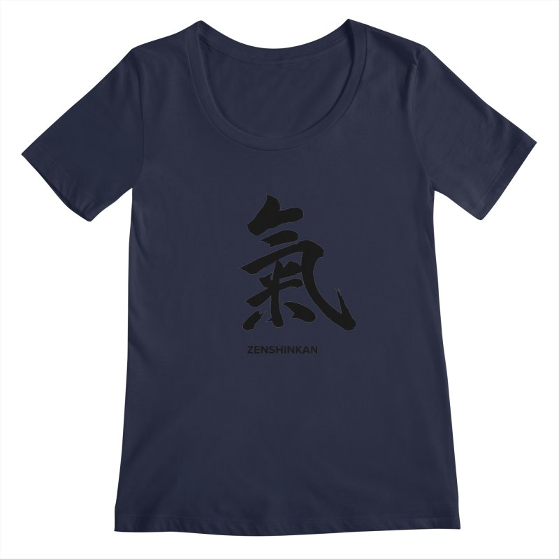 Ki Women's Scoopneck by Zenshinkan's Shop