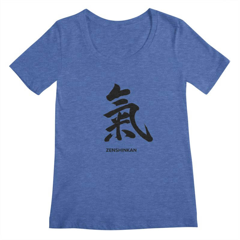 Ki Women's Scoopneck by Zenshinkan's Shop