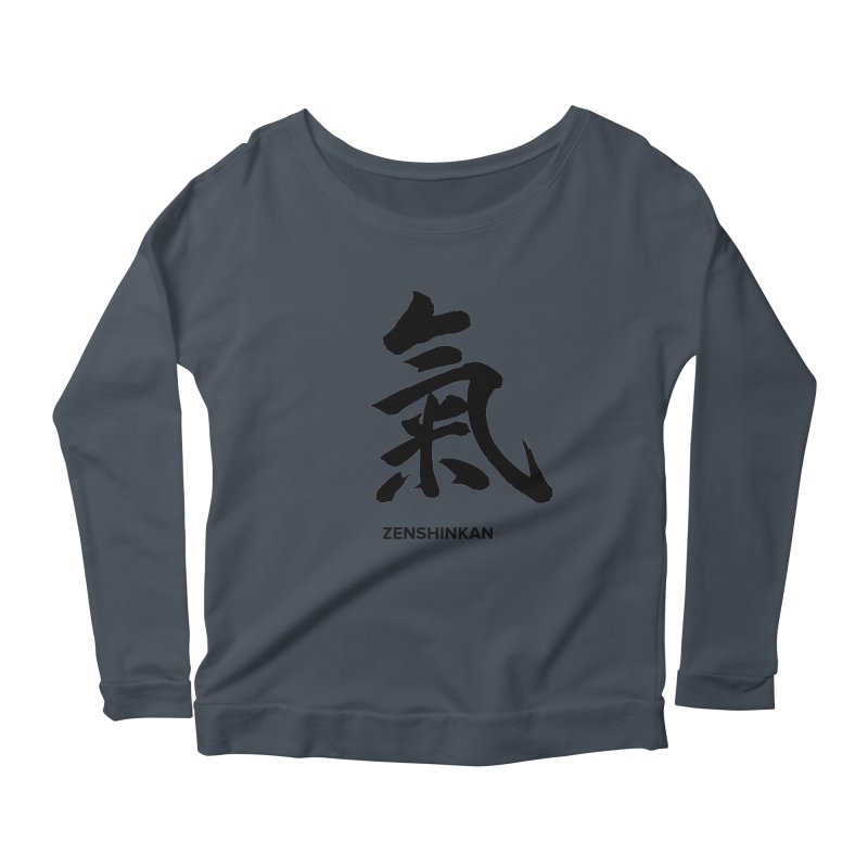 Ki Women's Longsleeve Scoopneck  by Zenshinkan's Shop