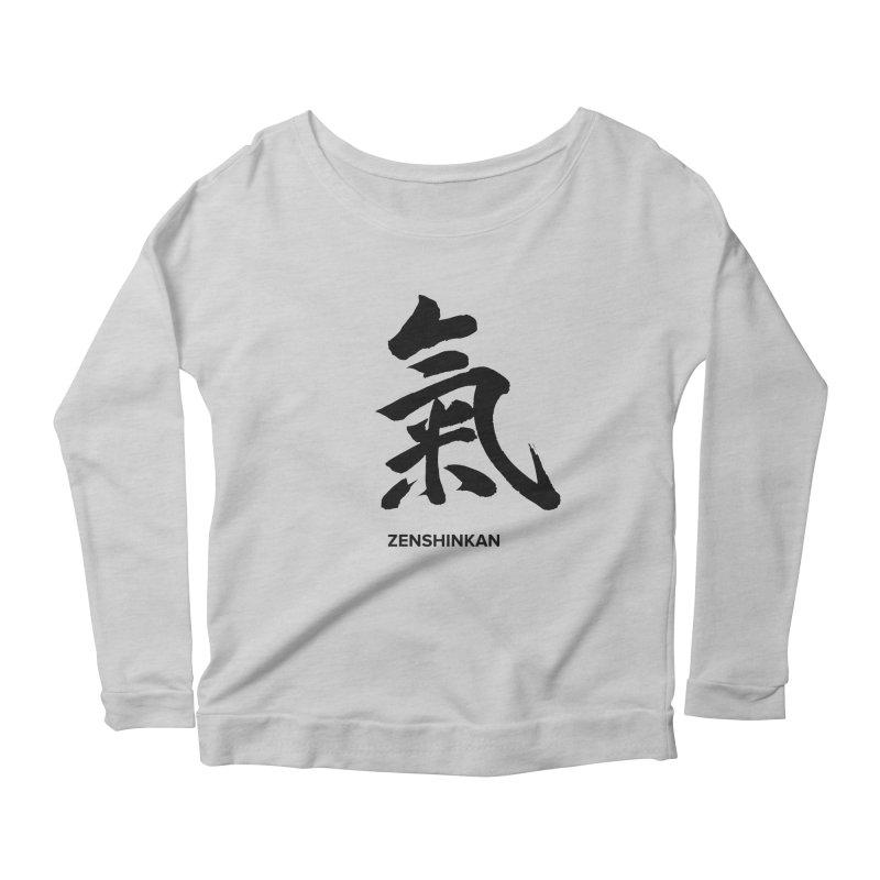 Ki Women's Longsleeve Scoopneck  by Zenshinkan's Shop