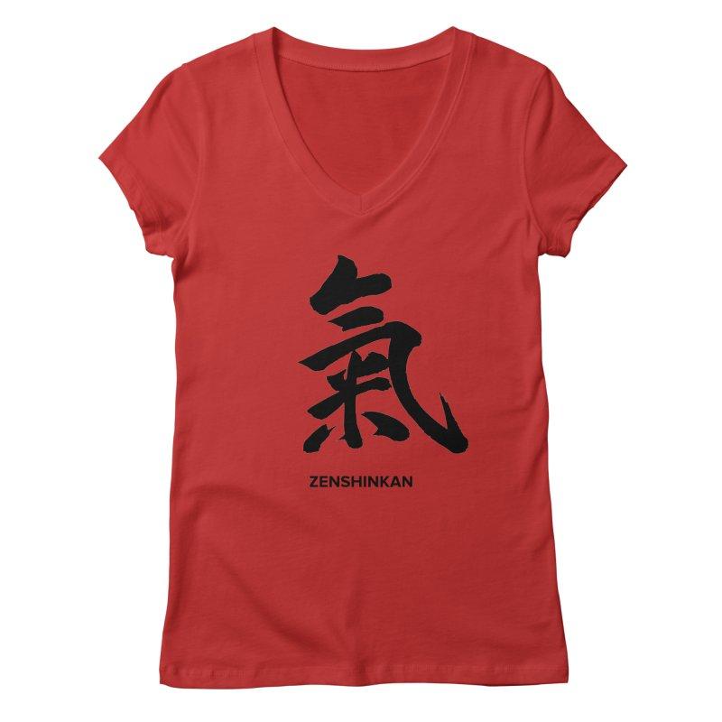 Ki Women's V-Neck by Zenshinkan's Shop